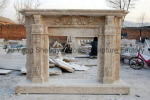 Antique Marble Fireplace pictures & photos