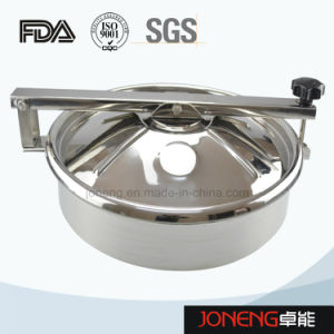 Stainless Steel Food Grade Round Type Manhole with Light (JN-ML2004) pictures & photos