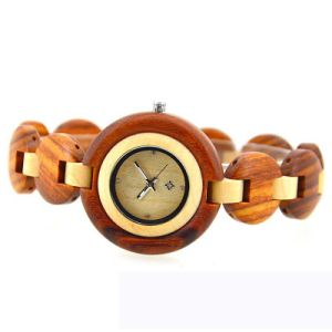 Fashion Wooden Environmentally Lady Wrist Watch pictures & photos