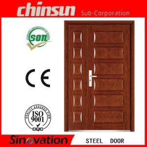 Best Selling New Design Steel Security Door with Low Price (SV-S115) pictures & photos