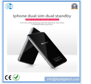 H3 Ultra Thin Mini Mobile Phone 1.53 Inch TFT Touch High Resolution Screen Card Mobile Phone pictures & photos