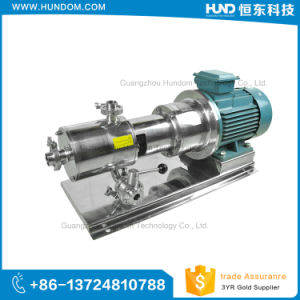 High Quality High Shear Homogenizer Pipelined Emulsion Pump pictures & photos