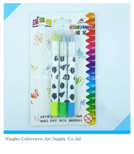 42g 3PCS Plastic Crayons for Students and Kids pictures & photos