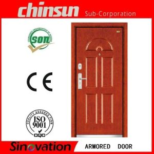 Modern Style Interior Armored Stainless Steel Door (SV-A013) pictures & photos