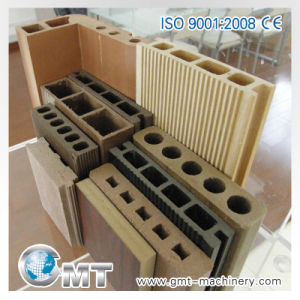 PP PE PVC Wood Plastic Composite WPC Profile Machinery Extruder pictures & photos