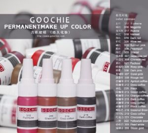 Goochie Organic Pigment Permanent Makeup Eybrow Ink pictures & photos