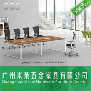 Modern Straight Office Conference Meeting Table/ Dining Table with Stainless Steel Leg pictures & photos