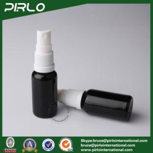 20ml Black Lightproof Glass Spray Bottles with White New Pump Sprayer pictures & photos