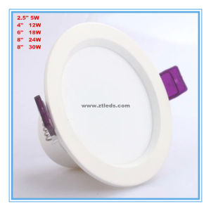 Economic 5W 12W 18W 20W 24W 30W Recessed LED Ceiling Light pictures & photos