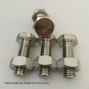 Hastelloy B3 2.4600 Hex Head Bolt with Head Marking 4600 pictures & photos