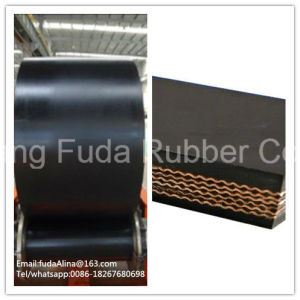 Top Products Hot Selling New Heat Resistant Black Rubber Belt Conveyor pictures & photos