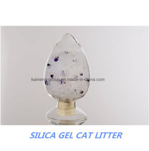 Perpumed Cat Litter/Silica Gel Cat Litter pictures & photos