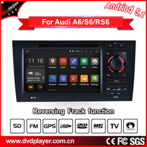 Android 5.1/1.6 GHz Car DVD Player for Audi A6/S6 DVD GPS Navigation pictures & photos