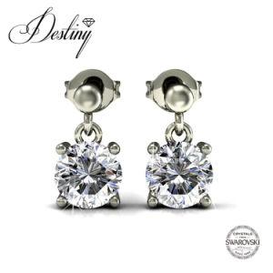 Destiny Jewellery Crystal From Swarovski Jupiter Chandelier Earrings