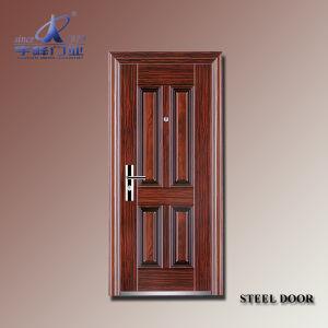 Russia Cheap Steel Security Door-Yf-S102 pictures & photos