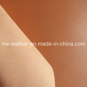 Microfiber PU Fabric for Auto Interior Decoration (HW-1628) pictures & photos