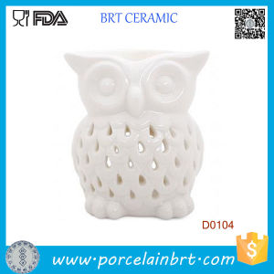 White Owl Candle Melt Aromatherapy Ceramic Oil Burner pictures & photos