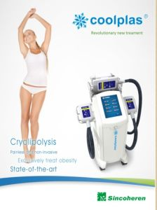 2017 Updated Coolplas Cryotherapy Machine, Fat Freezing Machine, Cryolipolysis pictures & photos