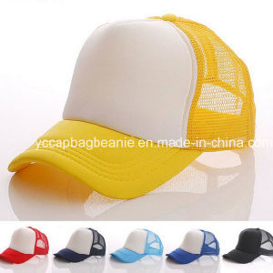 Custom Printed Logo Blank Mesh Trucker Hat pictures & photos