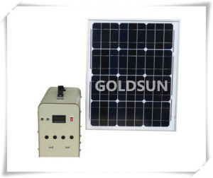 Family Small Solar Power Generation System 10W pictures & photos