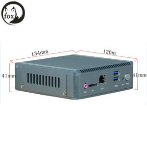 One Network Ports Industrial PC with J1900 Quad Core CPU, System Support Fanless Computing with SIM 3G pictures & photos