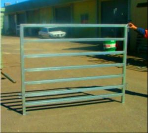 Galvanized Steel 6 Tube Cattle Corral Fence pictures & photos