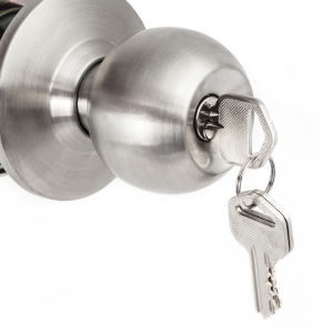 Chrom Zinc Alloy Cylinder Lever Door Lock pictures & photos