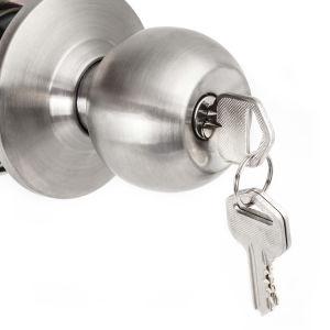 Tubular Knob Cylindrical Door Lock Chrom Zinc pictures & photos