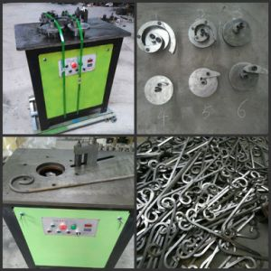 Electric Scroll Bender for Pipe, Flat Bar Square Bar pictures & photos