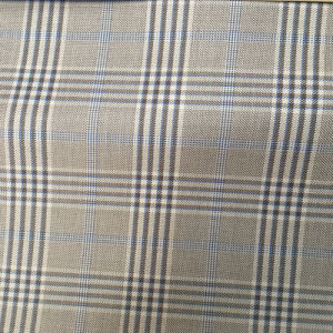 Polyester Rayon Viscose Yarn Dyed Checks Fabric for Jacket and Suit Pant with Soft Handfeel pictures & photos