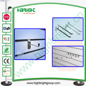 Double Wire Metal Display Hook for MDF Slatwall pictures & photos