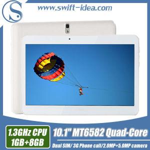 3G Calling 10.1 Inch Mtk6582 Quad Core 1GB RAM China Tablets (PMQ1035T)