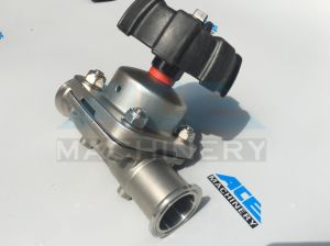 Stainless Steel Two Way Hygienic Manual Diaphragm Valve (ACE-GMF-4D) pictures & photos