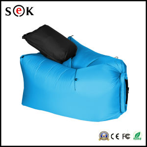 Fast Air Filling Outdoor Travel 210t Nylon Ripstop Inflatable Folding Lamzac Hangout Sleeping Lazy Bag Sofa pictures & photos