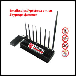 Desktop Mobile Signal Jammer, China Jammer, RF Jammer Cellphone Jammer, Signal Jammer for VHF. UHF pictures & photos