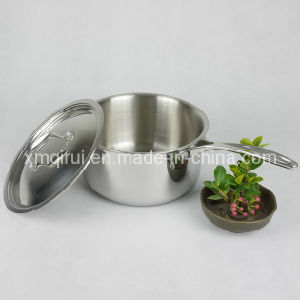 20cm Stainless Steel High Quality Sauce Pan pictures & photos
