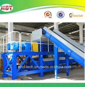 Automatic Recycling Plastic Double Shaft Shredder Machine pictures & photos