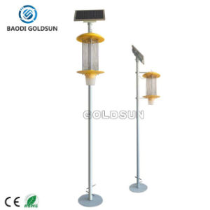 Outdoor Solar Bug Zapper Lamp Use in Food Grad Packing Factory pictures & photos