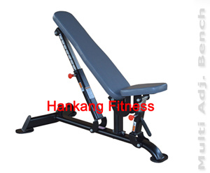 Fitness Equipment, Gym Machine, Multi-Adjustable Bench -PT-837 pictures & photos