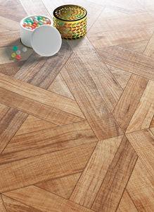 Wood Art Parquet Laminate Floor for 8.3mm HDF pictures & photos