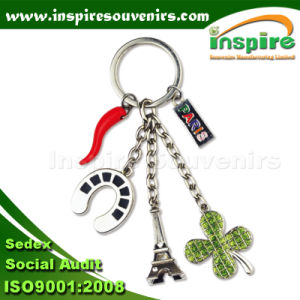Paris Souvenir Charm Keychain for Gift (SK844) pictures & photos