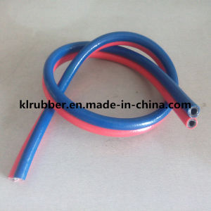 Reinforced Twin PVC Welding Hose pictures & photos