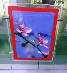 Hanging LED Advertising Light Box Acrylic Poster Frame pictures & photos