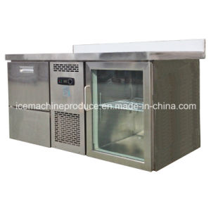 60kgs Workbench Type Combined Cube Ice Maker & Chiller pictures & photos