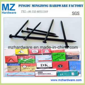 Black Steel Masonry Concrete Nail with Smooth Shank pictures & photos
