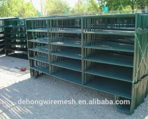 PVC Coated Steel Pipe Welded Cattle Fence pictures & photos