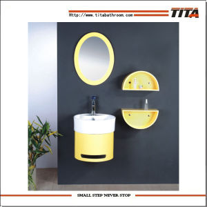 PVC Bathroom Cabinet/Bathroom Cabinet PVC/Bathroom Towel Cabinet (TH70301) pictures & photos