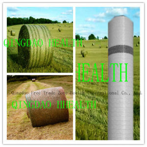 1.23m X 3000m White Bale Net for Farm Silage pictures & photos