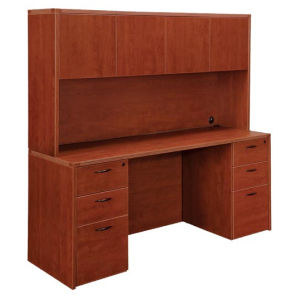 Modern High Quality MFC Board Office Furniture Hutch with Door pictures & photos
