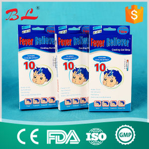 Chinese Manufacturer Cooling Gel Patch for Baby and Adult, Fever Reducing Patch pictures & photos